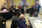 participatory budgeting meeting,  fall 2014
