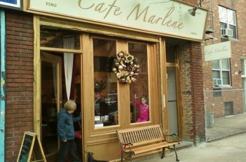 Café Marlene, shortly after opening 2010