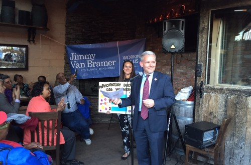Van Bramer announces projects to be funded