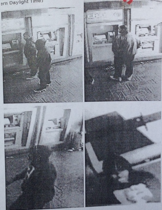 Quality of Chase Bank's video footage following robbery of