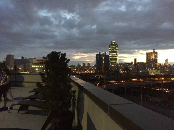 Citiview rooftop deck