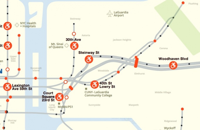 50 Court Street On Subway Map.Transit Advocacy Group Places 40th Street Station Among 50 Subway